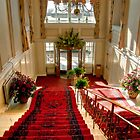 The Main Staircase at the Peebles Hydro by Christine Smith