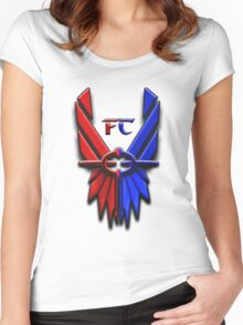 Classic FC Logo Women's Fitted Scoop T-Shirt
