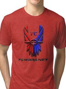 Classic FC Logo w/ Site URL Tri-blend T-Shirt