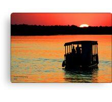 Zambezi Sunset Canvas Print