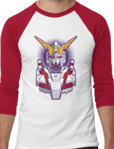 Unicorn Gundam Men's Baseball ¾ T-Shirt