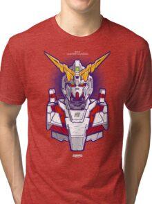 Unicorn Gundam Tri-blend T-Shirt