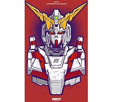 Unicorn Gundam Photographic Print