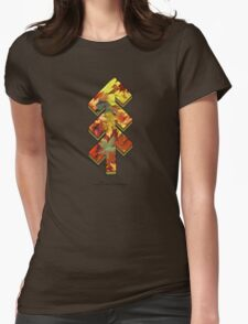 The Tree of Shubie Autumn Womens Fitted T-Shirt