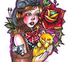 Crazy Cat Lady by Julie Bauschardt