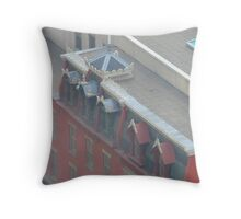 Framing the city Throw Pillow