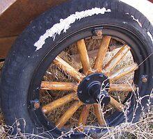 Old Jalopy Wheel by trueblvr