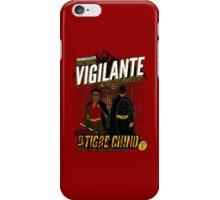Greendale's Nocturnal Vigilante (red) iPhone Case/Skin
