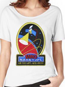 Mars Reconnaissance Orbiter (MRO) Program Logo Women's Relaxed Fit T-Shirt