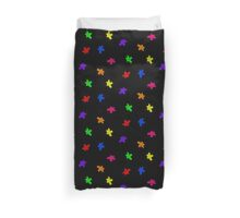 Colored Blobs Duvet Cover