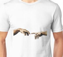 Creation Of Adam Hands Unisex T-Shirt