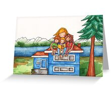Homeschooling Greeting Card