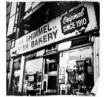 Knish Bakery Poster
