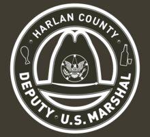 Harlan County Deputy US Marshal Badge by godgeeki