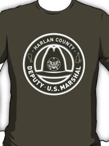 Harlan County Deputy US Marshal Badge T-Shirt