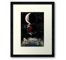 Clinging To Hope Framed Print