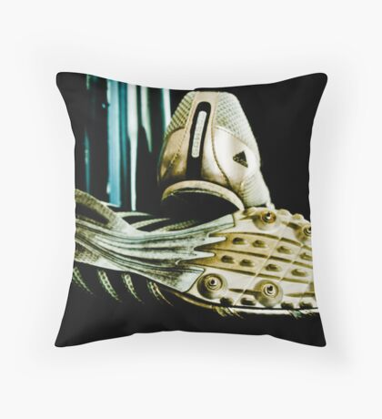Empty Spikes Throw Pillow