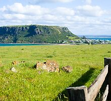 """""""The Nut"""" at Stanley on Tasmania's north west coast by aslanimages"""