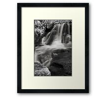 Liquid Silk Infrared Framed Print