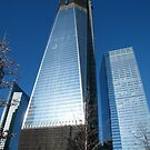World Trade Center as Seen from 9/11 Memorial, New York by lenspiro