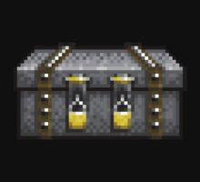 Five Nights at Freddy's 4 - Locked Box - Pixel art Baby Tee