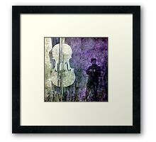 A Song for His Supper Framed Print