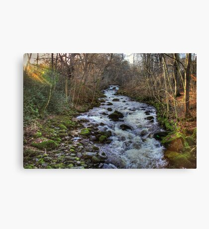 The Moness Burn Canvas Print