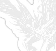 Caius Ballad - FFXIII-2 - Dark Background Sticker
