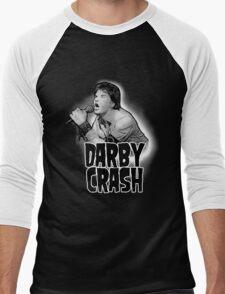 Darby Crash W Men's Baseball ¾ T-Shirt