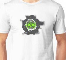 Death's-head green Unisex T-Shirt
