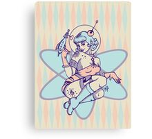 Space Babe Canvas Print