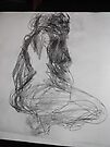 Life drawing(4 of 6) -(080212)- black biro pen/digital photo by paulramnora
