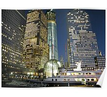 World Financial Center, Winter Garden, World Trade Center, New York  Poster