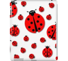 Many Ladybugs Shadows iPad Case/Skin