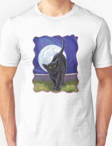 Animal Parade Black Cat Unisex T-Shirt