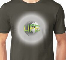 World - Life Green and Yellow Unisex T-Shirt