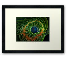Keeping Our World Green Framed Print