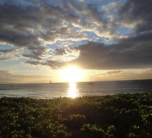 Lahaina Sunset by William Ferrante