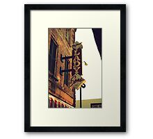 Lady and Sons Framed Print