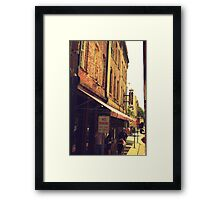 Lady and Sons 2 Framed Print