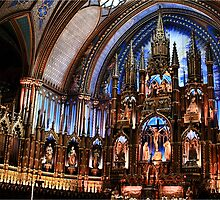 Notre-Dame Basilica of Montreal by SerdarGurbuz