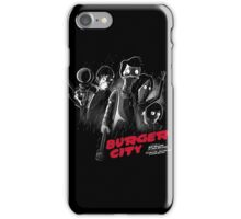 Burger City iPhone Case/Skin