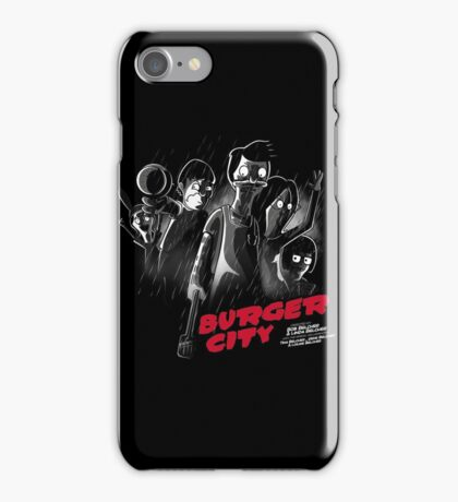 Burger City iPhone Case/Skin