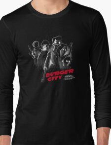 Burger City Long Sleeve T-Shirt