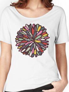 Retro Dahlia Women's Relaxed Fit T-Shirt