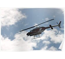 channel 7 helicopter Poster