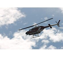 channel 7 helicopter Photographic Print