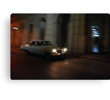 Night Taxi Canvas Print