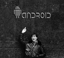 "Steve Jobs Says: ""Screw You Android"" by SEANJOHNSONRN"