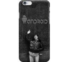 "Steve Jobs Says: ""Screw You Android"" iPhone Case/Skin"